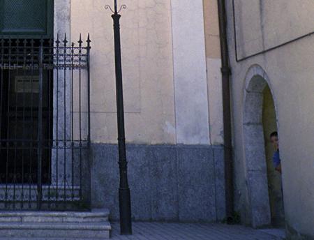 boy peeking church montefalcione copy