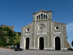 the Sanctuary of Santa Margherita