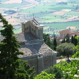 view of the Sanctuary of Santa Margherita