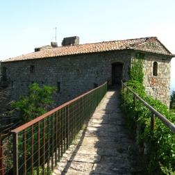heading back into the Fortezza del Girifalco