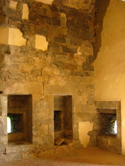 inside the Fortezza del Girifalco