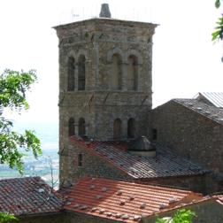 heading back to the Sanctuary of Santa Margherita
