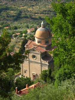 view of the Santa Maria Nuova Church