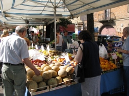 Italy Trip 2008, market day in Nizza Monferrato