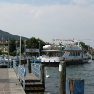 boat we took to Monte Isola Italy Trip 2008, Iseo, Lago d'Iseo, Italy Date: Saturday July 12, 2008