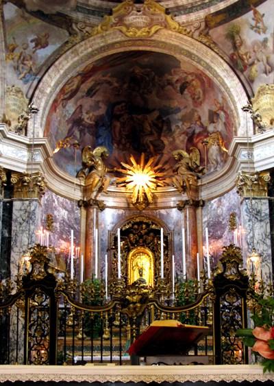inside basilica san luca copy