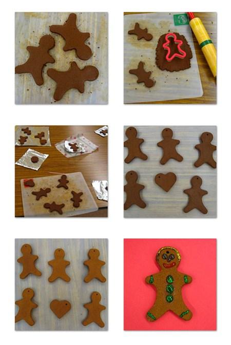 cinnamon ornament collage