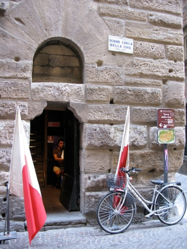 Torre Civica delle Ore entrance Italy Trip 2009, Lucca, Italy Date: Wednesday July 01, 2009