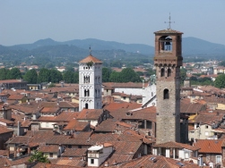 The tower on the right is the Torre delle Ore