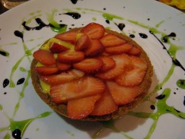 dessert at Locanda Prosciutto e Melone Italy Trip 2009, Lucca, Italy Date: Thursday July 02, 2009