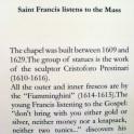 Info on Chapel IV