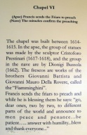 Info on Chapel VI