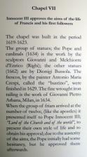 Info on Chapel VII