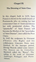 Info on Chapel IX