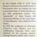 Info on Chapel IX