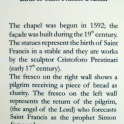 Info on Chapel I