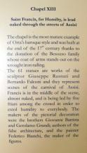 Info on Chapel XIII