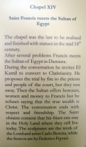 Info on Chapel XIV
