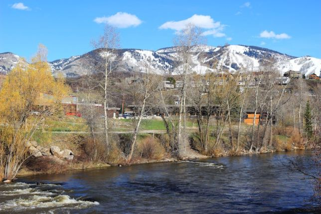 Steamboat Springs, Colorado, May, 2016