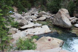the grottos Aspen side of Independence Pass, Colorado Date: Wednesday August 17, 2016