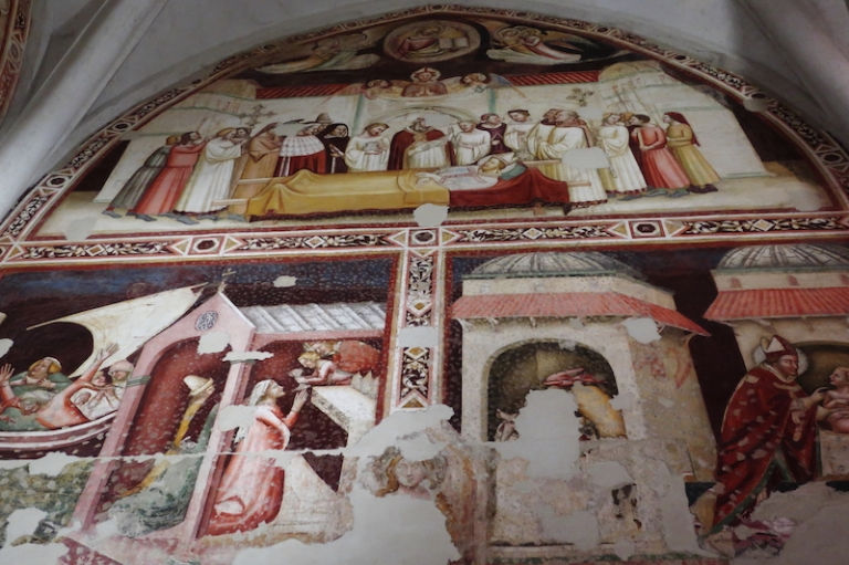 Battistero, Museo del Duomo Udine, Italy, May, 2017