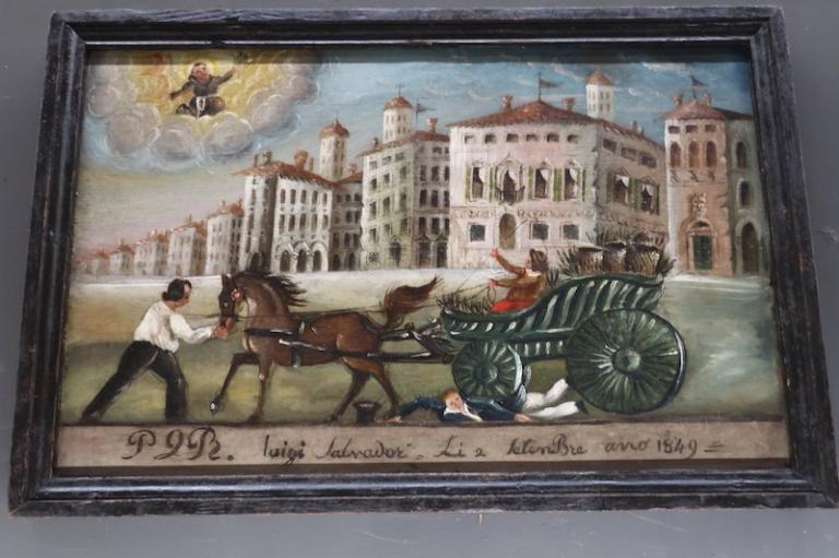 ex voto - Museo Diocesano e Gallerie del TiepoloUdine, Italy, May, 2017