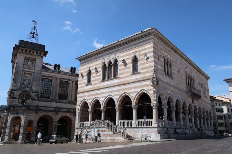 Piazza della Libertà - Loggia del Lionello Udine, Italy, May, 2017