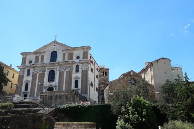 Il Santuario di Santa Maria Maggiore Trieste, Italy, May, 2017