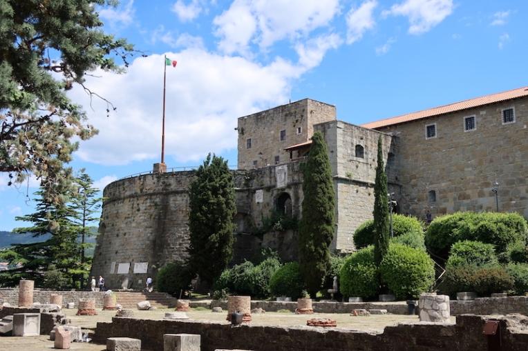 Castello di San Giusto Trieste, Italy Date: Friday May 26, 2017