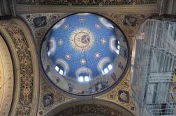 Inside the Chiesa Serbo Ortodossa di San Spiridione -Canal Grande di Trieste Trieste, Italy Date: Friday May 26, 2017