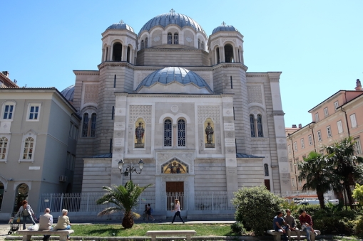 Chiesa Serbo Ortodossa di San Spiridione -Canal Grande di Trieste Trieste, Italy Date: Friday May 26, 2017