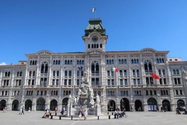Piazza Unità d'Italia - Palazzo del Municipio Trieste, Italy Date: Friday May 26, 2017
