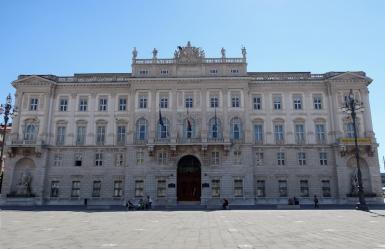 Piazza Unità d'Italia - Palazzo del Lloyd Trieste, Italy Date: Friday May 26, 2017