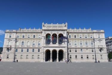 Piazza Unità d'Italia - Il Palazzo del Governo - La Prefettura Trieste, Italy Date: Friday May 26, 2017