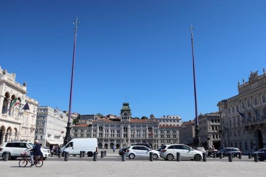 Piazza Unità d'Italia Trieste, Italy Date: Friday May 26, 2017