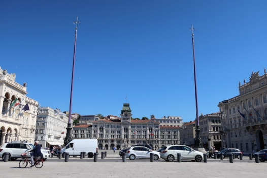 Piazza Unità d'Italia Trieste, Italy Date: Friday May 26, 2017