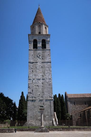 Campanile della Basilica Aquileia, Italy, May, 2017