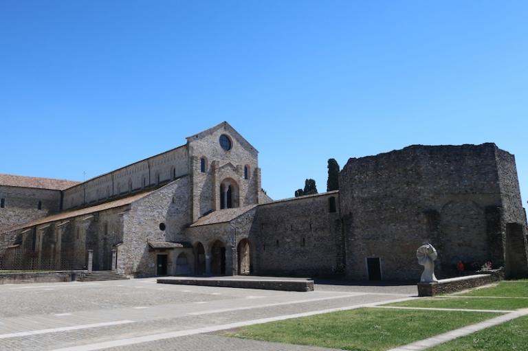 Basilica di Santa Maria Assunta Aquileia, Italy, May, 2017
