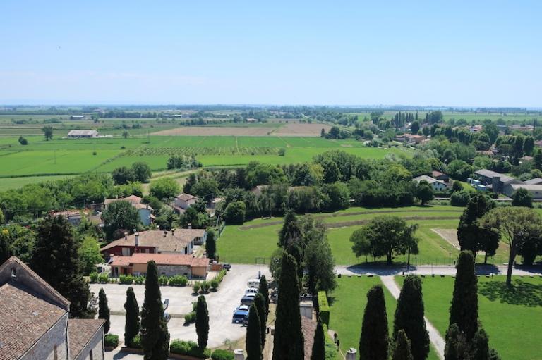 Campanile della Basilica - view Aquileia, Italy, May, 2017
