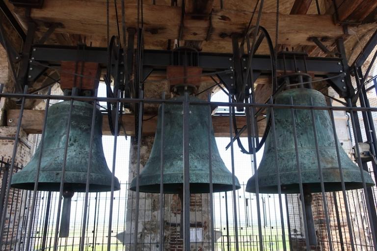 Campanile della Basilica - bells Aquileia, Italy, May, 2017