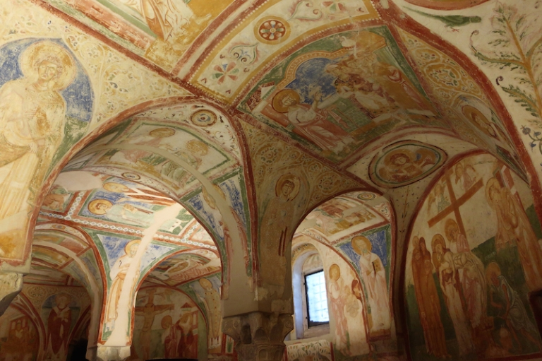 Crypt of Frescoes Aquileia, Italy, May, 2017
