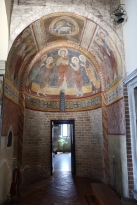 Inside Chiesa di Santa Lucia Treviso, Italy Date: Tuesday May 30, 2017