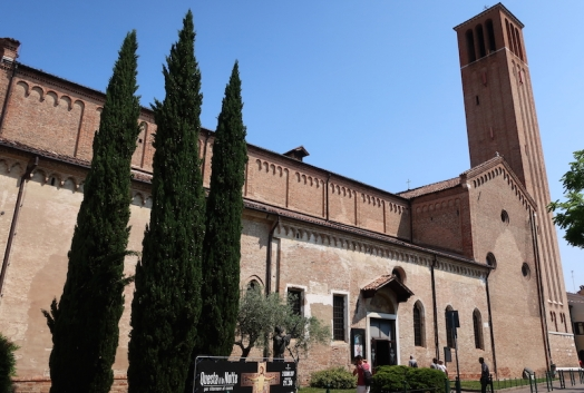 Chiesa di San Francesco Treviso, Italy Date: Tuesday May 30, 2017