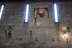 Inside the Chiesa di San Francesco Treviso, Italy Date: Tuesday May 30, 2017