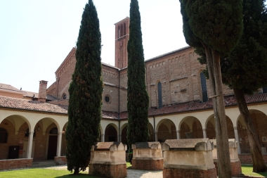 Chiostro di San Francesco Treviso, Italy Date: Tuesday May 30, 2017