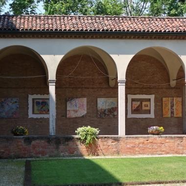Chiostro di San Francesco - Batik exhibit Treviso, Italy Date: Tuesday May 30, 2017
