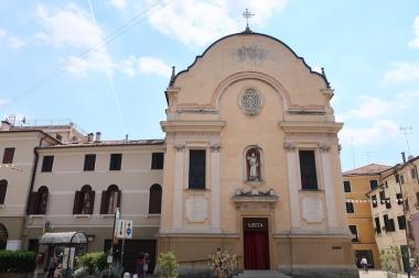 Chiesa di S Rita or Chiesa di S Leonardo Treviso, Italy Date: Tuesday May 30, 2017