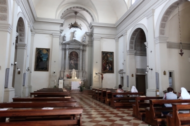 Inside the Chiesa di S Stefano Treviso, Italy Date: Tuesday May 30, 2017