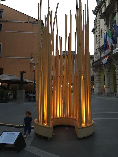 Udine, Italy, May, 2017