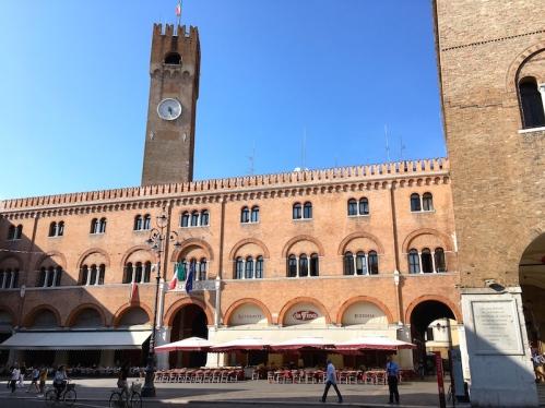Piazza dei Signori & Torre Civica Treviso, Italy Date: Monday May 29, 2017